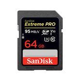 【EC數位】SanDisk Extreme Pro SDXC UHS-I V30  64GB 記憶卡 公司貨