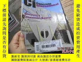 二手書博民逛書店concrete罕見international january