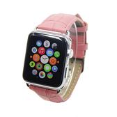 Apple Watch Series 錶帶 S6錶帶 S5錶帶 S4錶帶 S3錶帶 鱷魚紋 蘋果錶帶 38mm 40mm 42mm 44mm