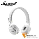 【缺貨】英國 Marshall Major III Bluetooth 藍芽耳罩式耳機 - 白色 MajorⅢ / 公司貨保固 藍牙