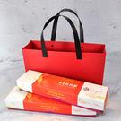 中國紅 禮品袋- 環保牛皮纸袋 高級純色手提袋  時尚簡約