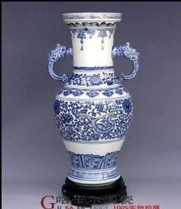 家居裝飾景德鎮青花瓷花瓶