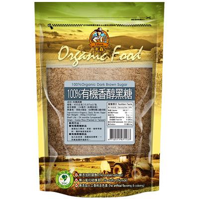 青荷(米森)有機香醇黑糖450g