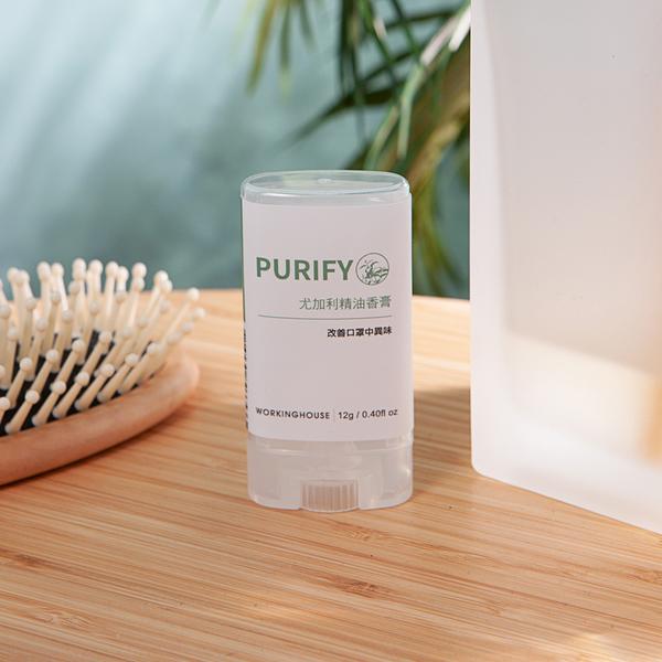 PURIFY尤加利精油香膏-生活工場