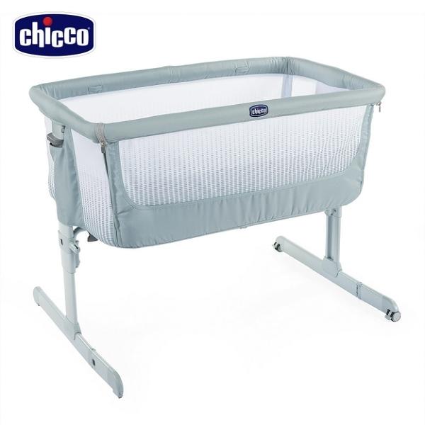 【愛吾兒】Chicco Next 2 Me多功能親密安撫嬰兒床邊床Air版-加勒比藍 (CBB79620.24)