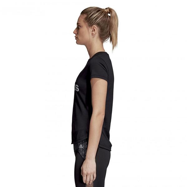 Adidas ADI TRAINING T 女裝 上衣 短袖 休閒 棉質 黑 【運動世界】CV5103