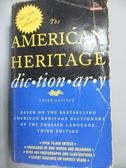 【書寶二手書T4/字典_JEZ】The American Heritage Dictionary _Mifflin