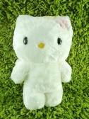 【震撼精品百貨】Hello Kitty 凱蒂貓~KITTY絨毛娃娃-精靈圖案-白色