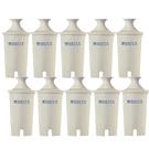 [送4L濾水壺] Brita 濾水壺專用圓形濾心/濾芯 (10入) (和舊款相容,效率更好可過濾151公升)