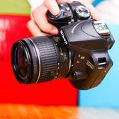 高清長焦照相機Nikon/尼康D3400  18-55VR套機 單反相機入門級高清旅遊數碼 igo 免運