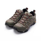 MERRELL MOAB 2 GORE-TEX 短筒健行鞋 橄欖綠/棕 ML42487 男鞋