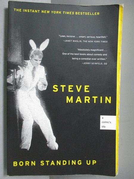 【書寶二手書T5/傳記_OQB】Born Standing Up_Martin, Steve