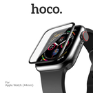 【愛瘋潮】hoco Apple Watch (44mm) 鋼化玻璃貼 厚度0.15 3D曲面熱彎工藝