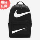 【現貨】Nike Heritage 後背包 休閒 15吋筆電隔層 水壺 黑【運動世界】DJ7377-010