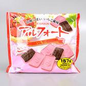 【北日本】帆船草莓巧克力餅151.5g(賞味期限:2019.02.01)