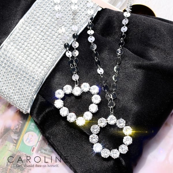 《Caroline》★韓國熱賣項鍊  Bling Bling 絢麗閃亮動人項鍊70174