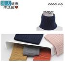 【COOCHAD酷爵 海夫】日本優質保暖纖維 雙層織法保暖脖圍-多色 台灣製