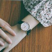 萬聖節快速出貨-chic風女生手錶高中學生韓版簡約潮流ulzzang復古style文藝情侶錶