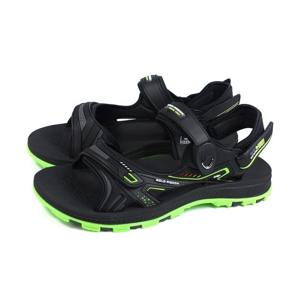 G.P 阿亮代言 運動型 涼鞋 黑/綠 男鞋 G0793-60 no257