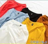 竹節棉長袖上衣 竹節棉長袖T恤女 2021秋冬新款內搭寬鬆洋氣純棉白色打底衫棉上衣 快速出貨