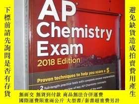 二手書博民逛書店Cracking罕見the AP Chemistry Exam,