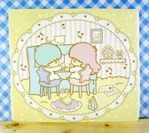 ~震撼  ~Little Twin Stars KiKi LaLa 雙子星小天使雙面卡片黃