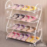 鞋櫃 鞋架簡易家用多層簡約現代經濟型鐵藝宿舍拖鞋架子收納小鞋架鞋櫃·夏茉生活YTL