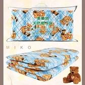 【MIKO】台灣製 3X6尺單人床墊-厚椰棕單人床墊96綠