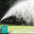 新型電動噴霧器農用鋰電池12v充電背負式智慧消毒打藥農藥機高壓WD 小時光生活館