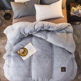 被子 8斤10斤加厚法萊絨冬被法蘭絨被子全棉雙人保暖被芯單人冬天冬季T 尾牙