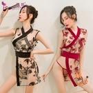 情趣內衣刺繡網紗透視誘惑日系和服【橘社小鎮】