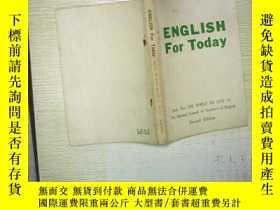 二手書博民逛書店ENGLISH罕見For Today (book two)Y18