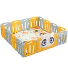 嬰兒爬行墊護欄寶寶圍欄地上室內安全防護欄兒童遊戲學步柵欄家用 門欄