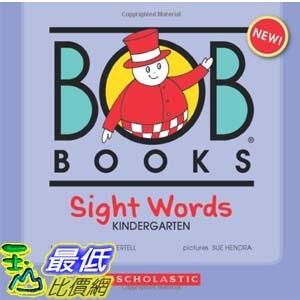 [104美國直購] 2015美國暢銷書排行榜 Bob Books Sight Words: Kindergarten