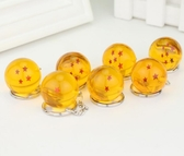 現貨 七龍珠球鑰匙扣玩具創意龍珠禮品日本動漫工藝小禮品 花間公主