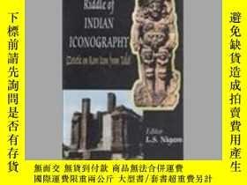 二手書博民逛書店Riddle罕見of Indian Iconography: Z