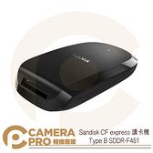 ◎相機專家◎ Sandisk CFexpress 讀卡機 Type B USB-C SDDR-F451 增你強公司貨