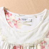 莫代爾睡衣女士夏季短袖中年大碼寬鬆套裝夏款女裝薄款媽媽家居服  易貨居