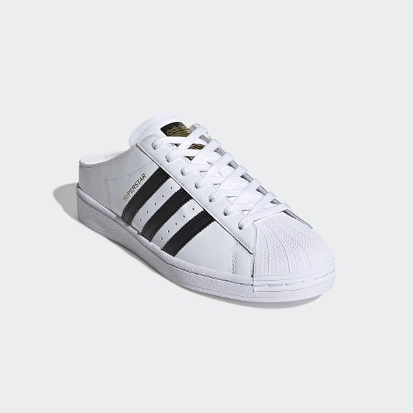 ADIDAS Superstar Slip On 男女鞋 愛迪達 三葉草 貝殼頭 懶人鞋 情侶穿搭 白 黑 FX0527