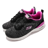 Skechers 休閒鞋 Skech Air Dynamight Paradise Waves Wide 寬楦頭 女 黑 粉【ACS】 149344-WBKHP