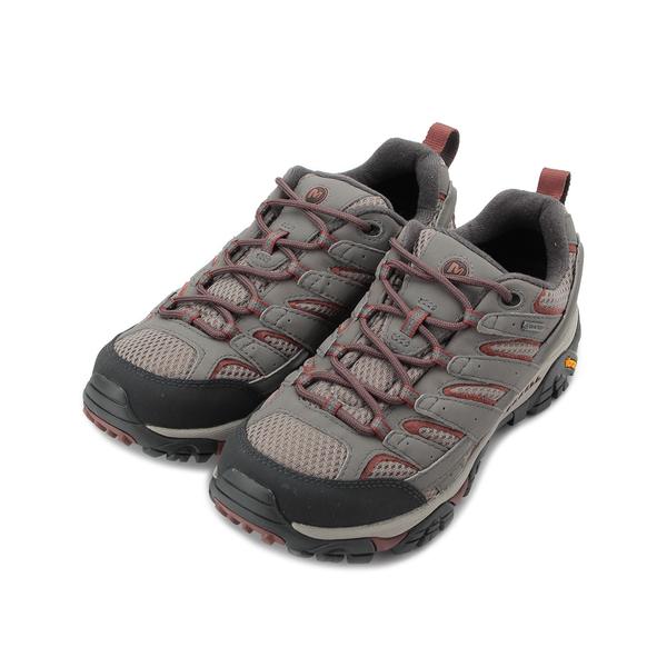 MERRELL MOAB 2 GORE-TEX 防水登山鞋 淺灰/紅 ML99790 女鞋