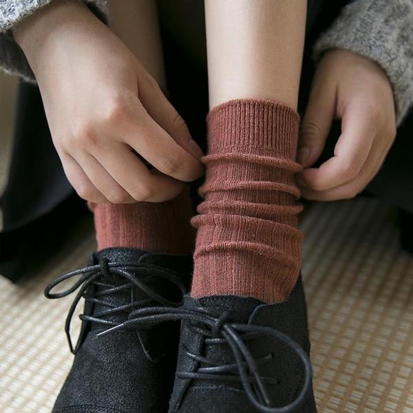 襪子女純棉中筒襪日繫學院風