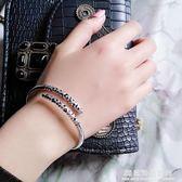 純銀緊箍咒手鐲男女情侶一對至尊寶孫悟空金箍棒花游記同款手環?