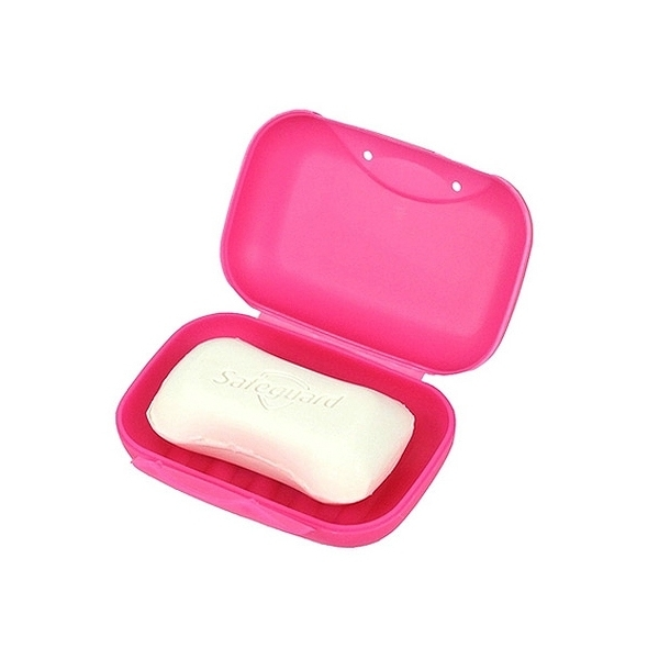 彩色便攜旅行密封香皂盒(1入)【小三美日】顏色隨機出貨