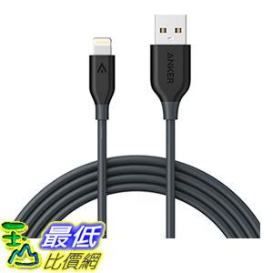 [106美國直購] Anker PowerLine Lightning(6ft)Apple MFi Certified Charging Cable 充電線 傳輸線
