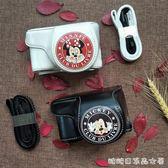 相機皮套-a6000相機包a5100a6400佳能EOS M6 M5 M50 200D皮套 糖糖日系