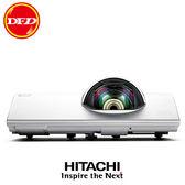 日立 HITACHI CP-BW301WN 投影機 3000流明 1280x800 WXGA 三年全機零件免費保固(燈泡除外) 公司貨