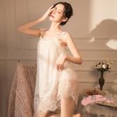 情趣睡衣 霏慕性感女大碼蕾絲睡衣情趣內衣床上激情騷誘惑睡裙套裝挑逗超騷 LW2281