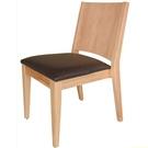 餐椅 TV-468-2 文森原木餐椅 (本椅可堆疊)【大眾家居舘】