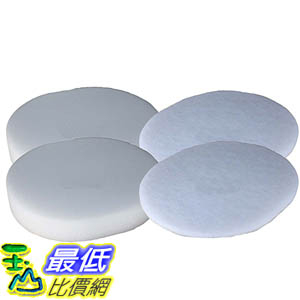 [106美國直購] 2 Foam & Felt Filters for Shark Navigator NV80, UV420, UV440 Vacuums XFF80